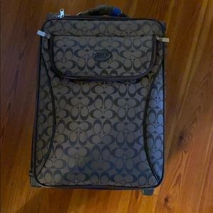 Coach Suit Case